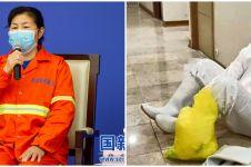 5 Kisah haru petugas kebersihan RS saat wabah corona