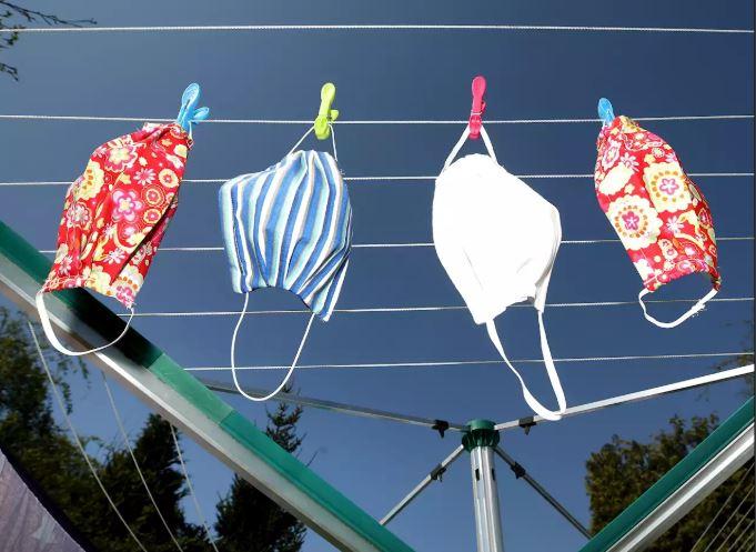 Cara mencuci masker kain secara benar Istimewa