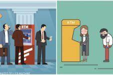11 Tips saat ambil uang di ATM saat pandemi virus corona