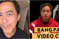 7 Aksi lucu Pandji Pragiwaksono FaceTime bareng warganet