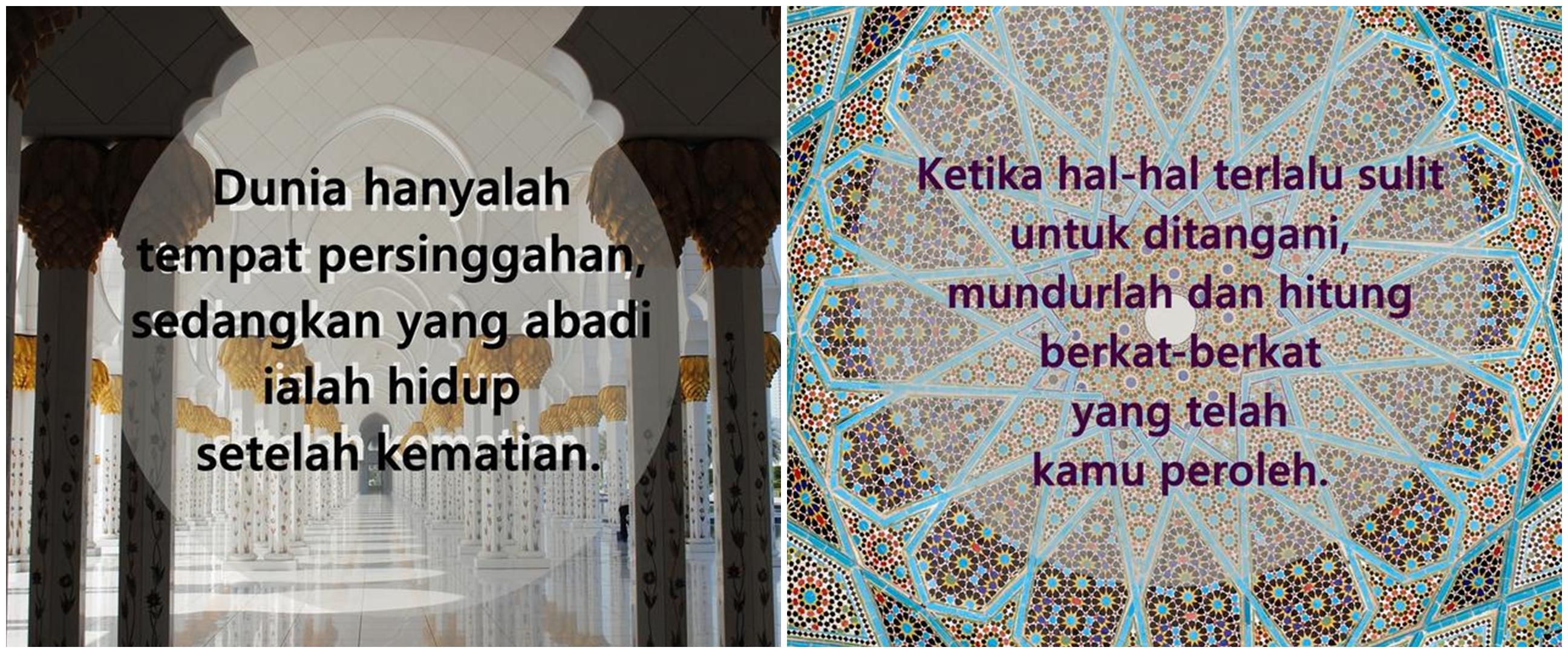 40 Kata-kata bijak islami kehidupan, inspiratif dan menyentuh hati