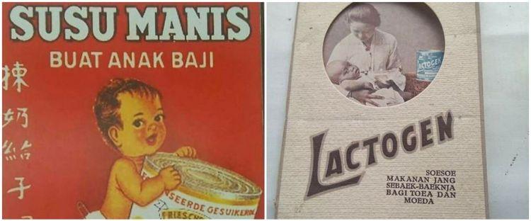 Penampakan 10 iklan jadul produk susu ini bikin nostalgia