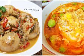 8 Resep telur santan, enak, bergizi & cocok untuk buka puasa