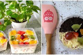 12 Resep salad buah yoghurt lezat, sehat, dan bikin nagih