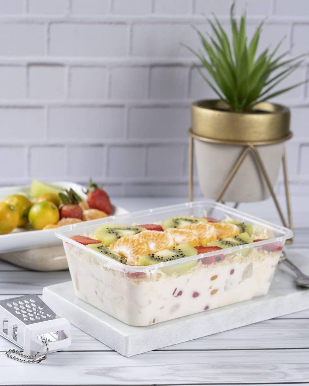salad buah yoghurt instagram