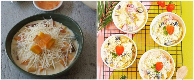 20 Resep salad buah yoghurt lezat, sehat, dan bikin nagih
