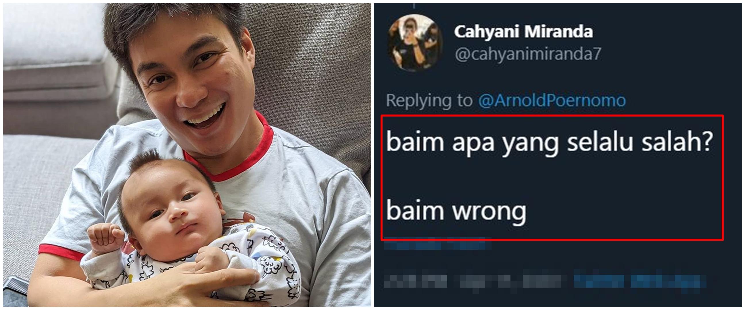 10 Cuitan lucu pelesetan nama Baim Wong ini bikin ngakak
