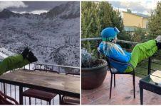 8 Potret orang 'liburan di rumah' ini kocak tapi juga miris