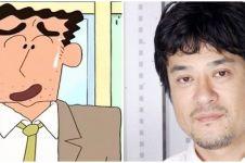 Keiji Fujiwara pengisi suara ayah Sin-chan meninggal dunia