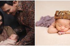 7 Pemotretan newborn Yosafat anak Ahok ini gemesin banget
