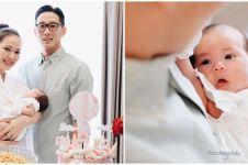9 Momen syukuran satu bulan anak Yuanita Christiani, penuh kehangatan