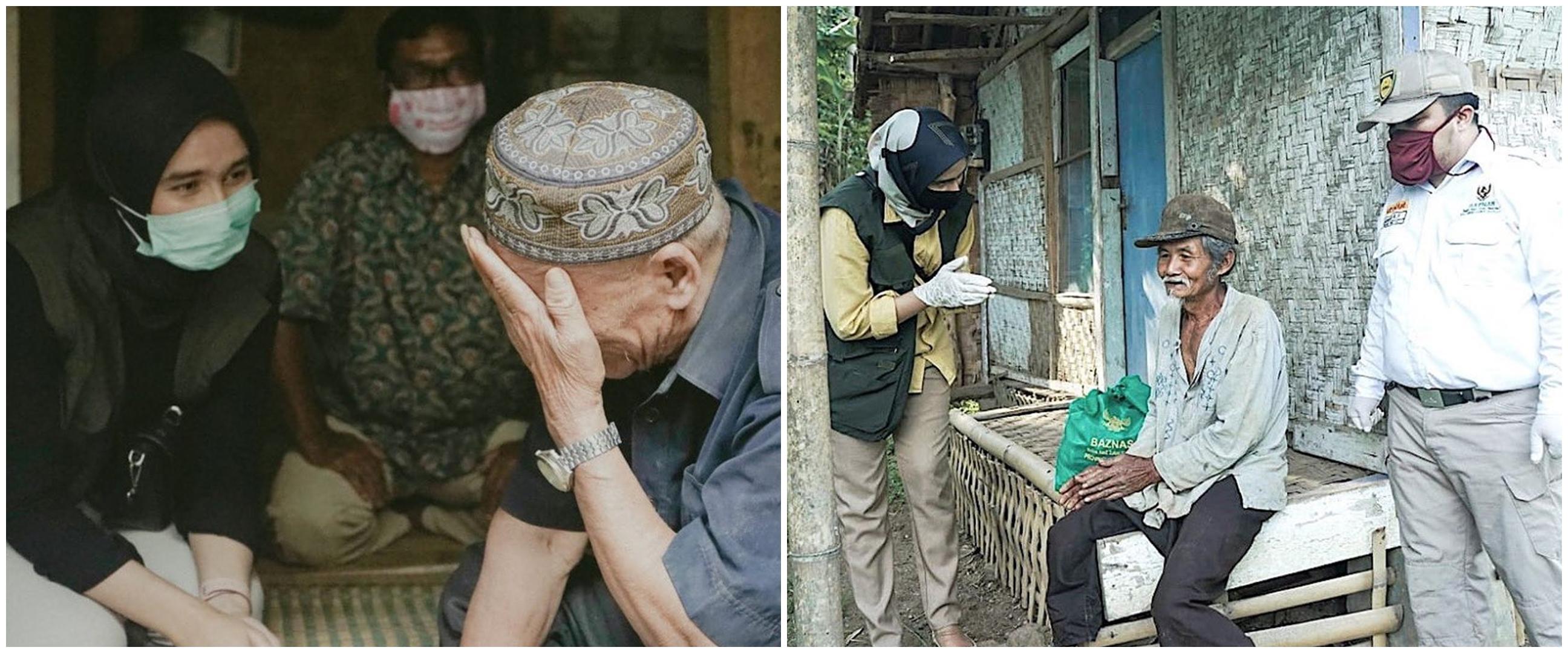 10 Momen Sonya Fatmala blusukan beri bantuan di tengah pandemi