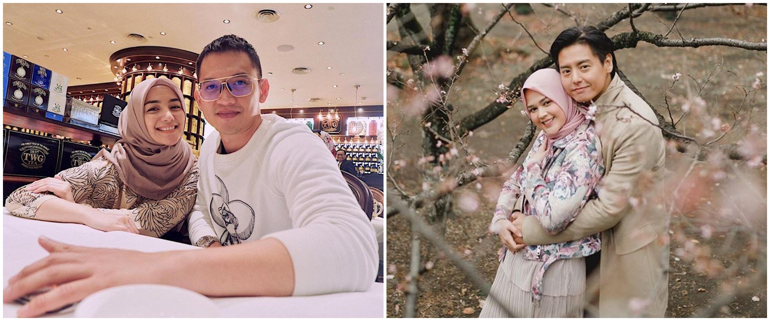 11 Pasang seleb ini jalani Ramadan 2020 pertama sebagai suami-istri