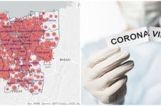 Peta penyebaran corona DKI Jakarta terbaru 20 April 2020