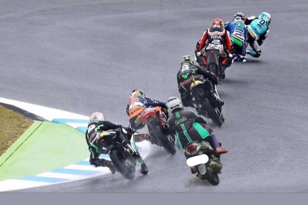 driver ojek online motogp © 2020 brilio.net