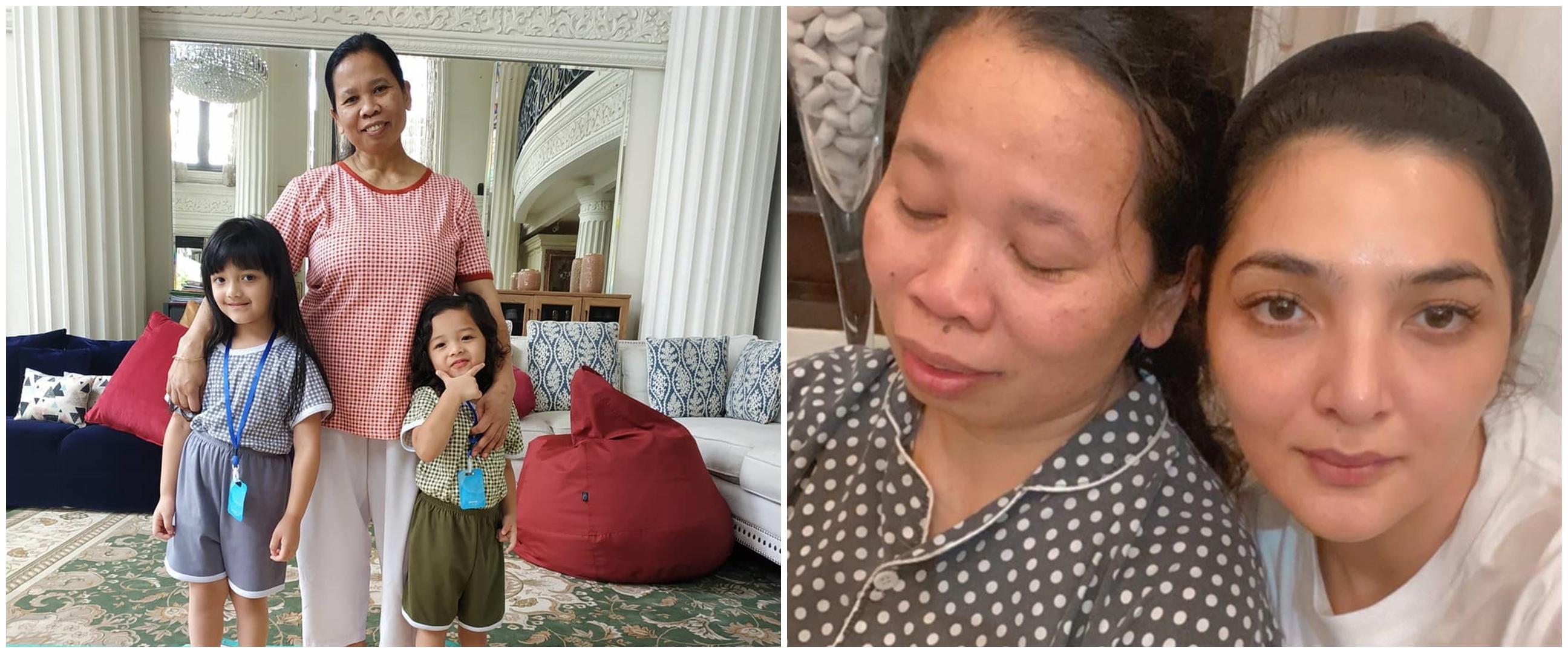 Pengasuh Arsy sakit tumor rahim, Ashanty sedih dan minta doa