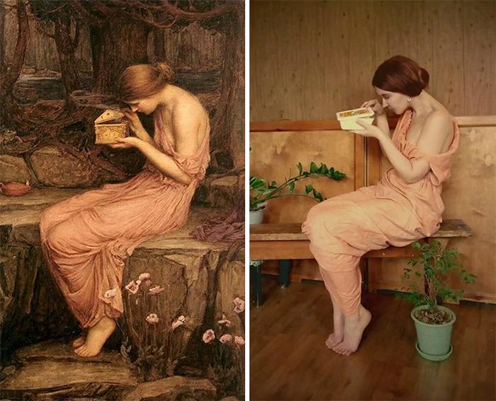 Parodi Lukisan klasik boredpanda
