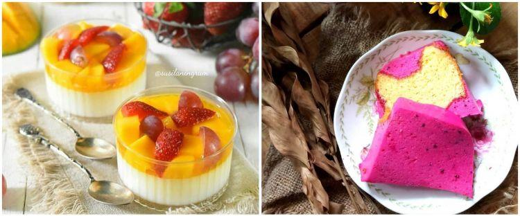 10 Resep puding aneka bahan, mudah, segar, dan sehat