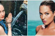 7 Momen Cinta Laura disebut mirip sama Angelina Jolie