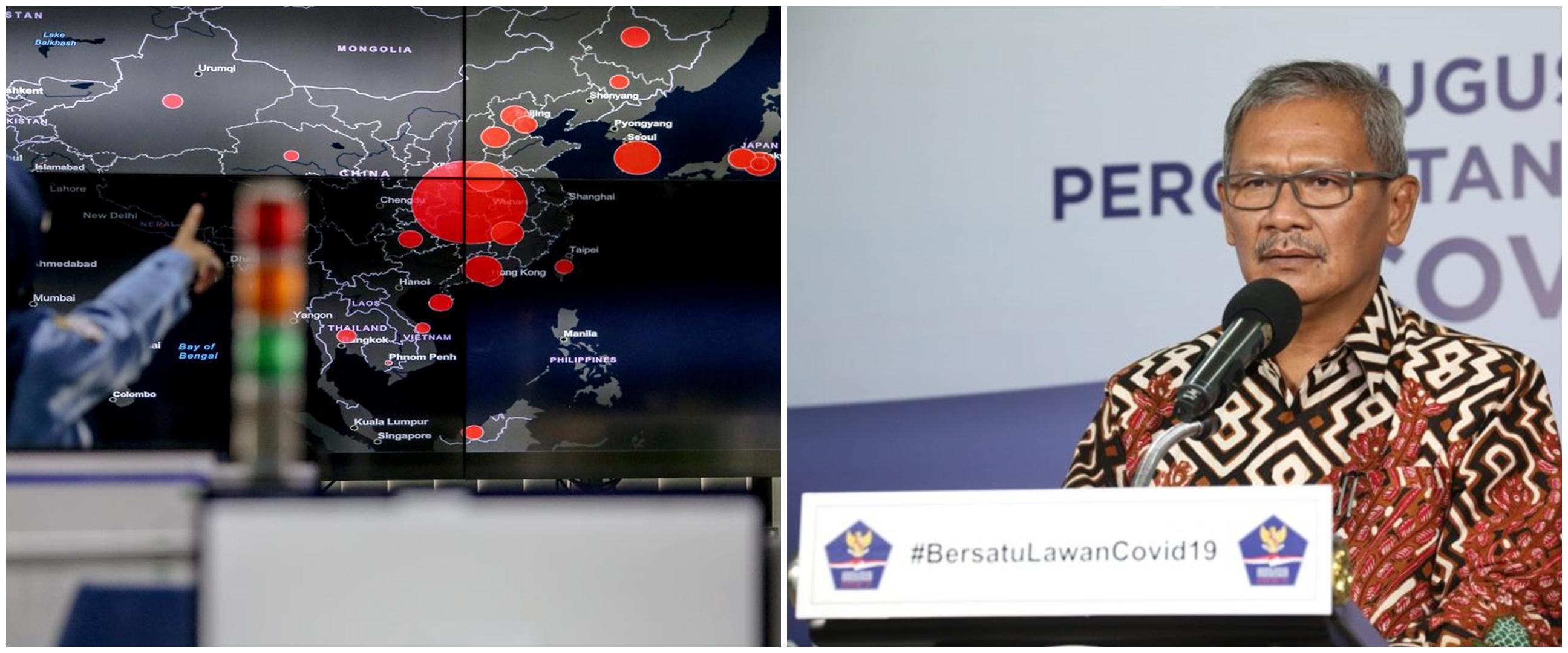 Update penyebaran corona di Indonesia terbaru 22 April 2020
