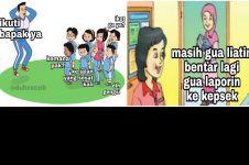 11 Meme lucu murid dan guru saat di kelas, endingnya ngeselin