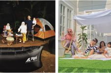 Potret 7 seleb piknik di rumah, hibur diri selama isolasi corona