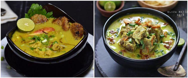 7 Resep soto daging santan kuning, paling enak, gurih dan segar