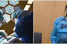 Sedang hamil, dokter ini tetap berjuang rawat pasien corona
