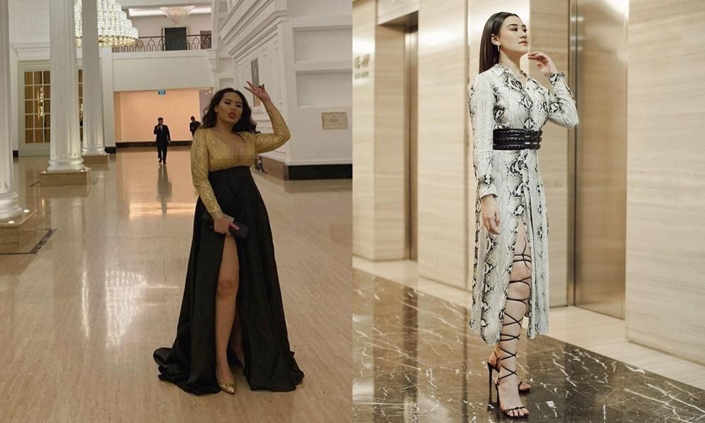 Beda gaya Zahwa dan Aaliyah Massaid Instagram