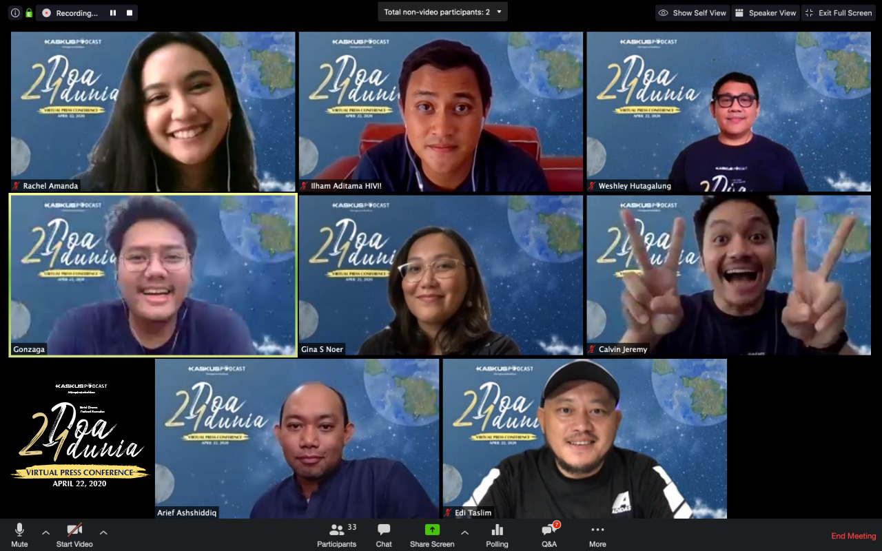Cerita Ilham HIVI jajal akting pertama kali di drama 2 Doa 1 Dunia