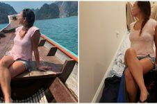 10 Aksi lucu Quarantine Travel Challenge ini kreatif abis