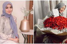 8 Potret ultah Citra Kirana ke-26, dapat kue dan kejutan bunga