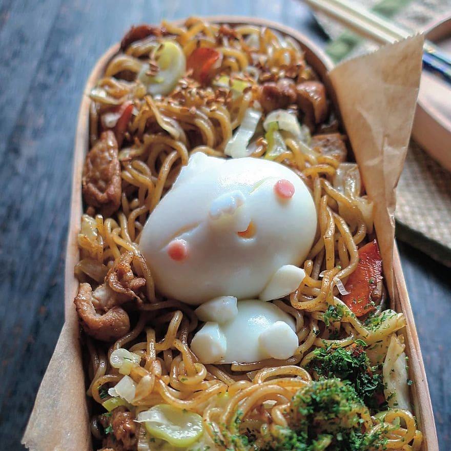 Potret telur berbentuk tokoh kartun canyouactually