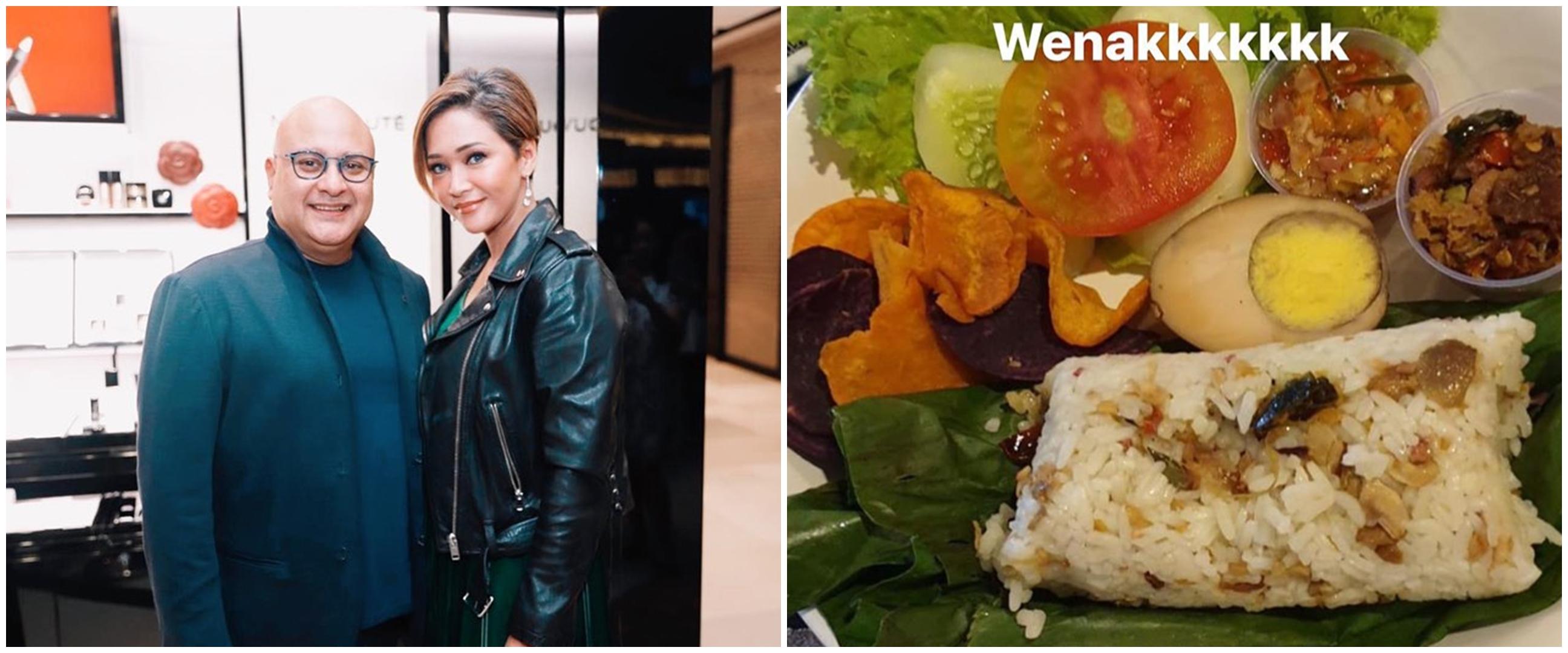 Intip menu sahur hari pertama 7 seleb, sehat dan bergizi