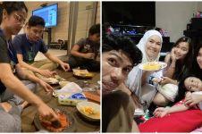 Momen sahur pertama 6 keluarga seleb, penuh kehangatan