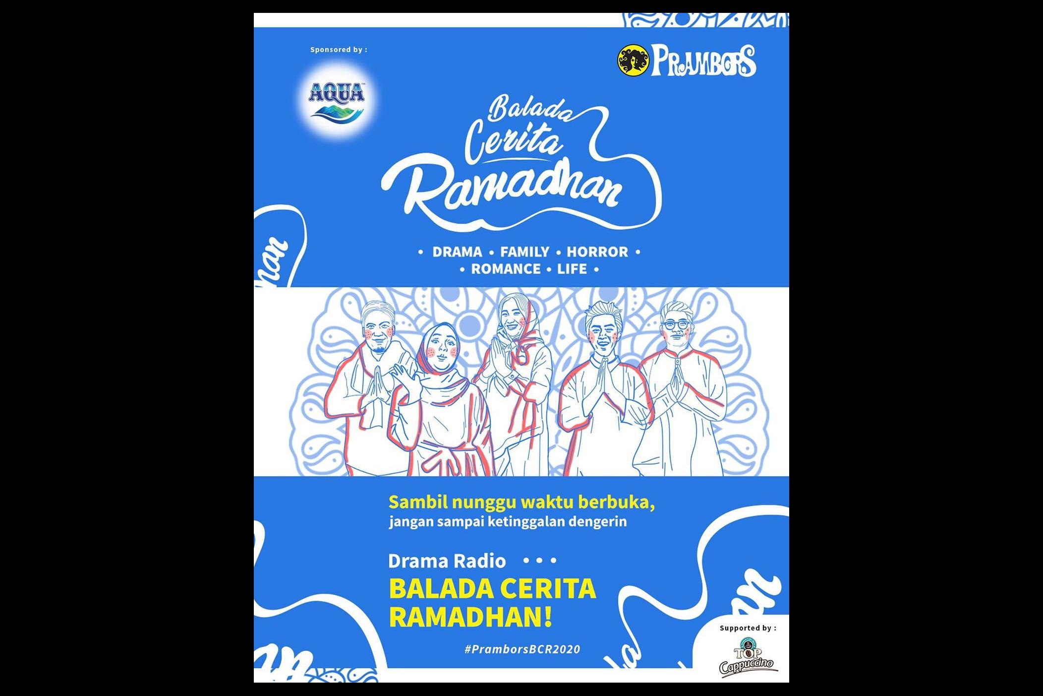 Kejutan Ramadhan Prambors, suguhkan drama radio & hadiah jutaan rupiah