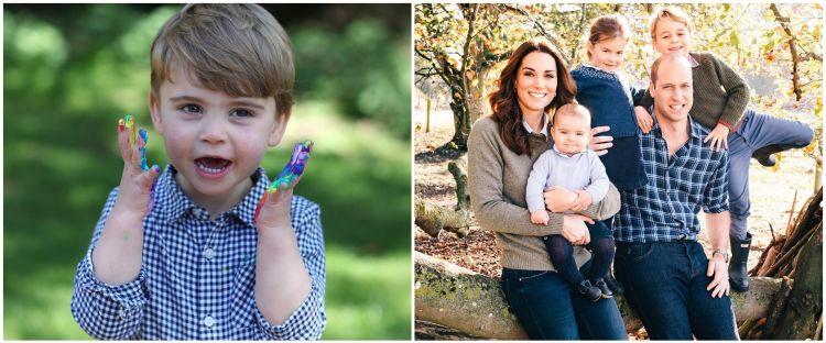 10 Potret tampan Louis, anak ketiga Kate & Pangeran William