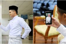 Kisah pernikahan petugas medis corona, ijab kabulnya via online