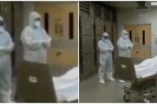 5 Momen petugas medis salatkan jenazah corona tanpa keluarga