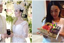6 Momen ultah Zaskia Gotik, pernikahan jadi kado terindah