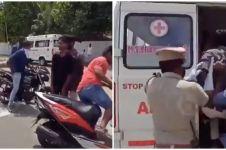 Aksi polisi India kurung pelanggar lockdown ini unik abis