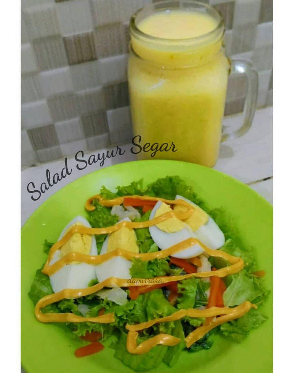 resep salad sayur instagram