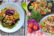 12 Cara membuat salad sayur enak, sederhana, praktis, & sehat