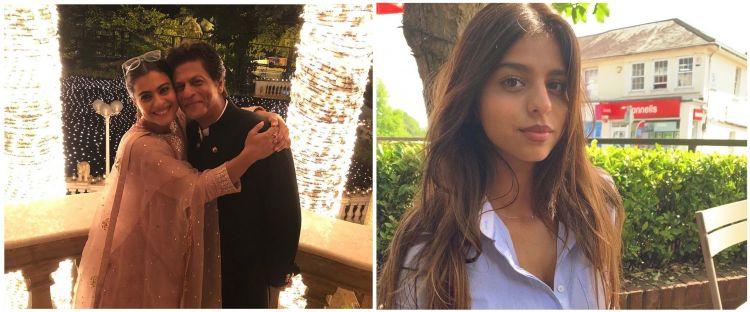 Sang putri ingin jadi aktris, Shahrukh Khan minta belajar dari Kajol