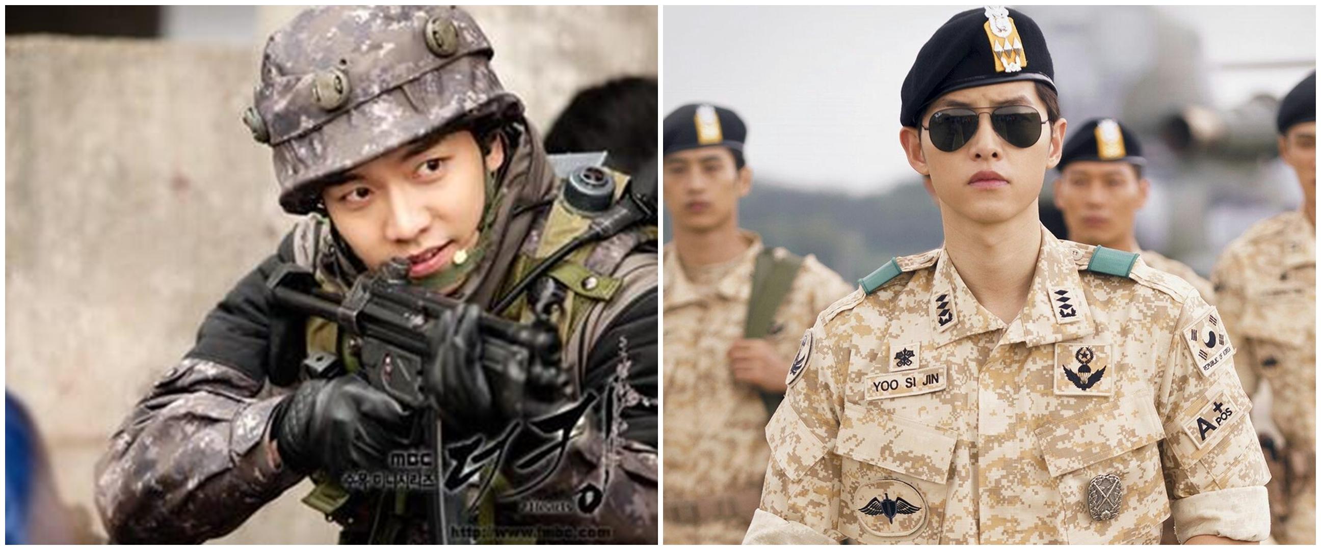 Berseragam militer, 6 aktor Korea ini begitu memesona di dramanya