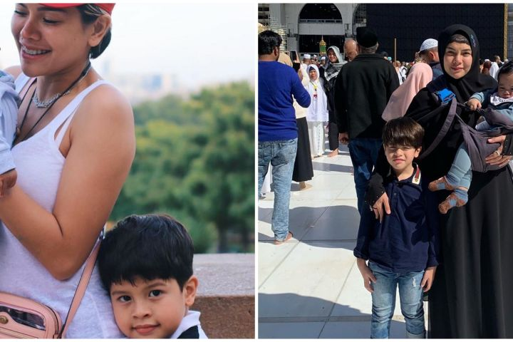 Bungsu ultah ke-1, Nikita Mirzani curhat perjuangan lahirkan sang anak