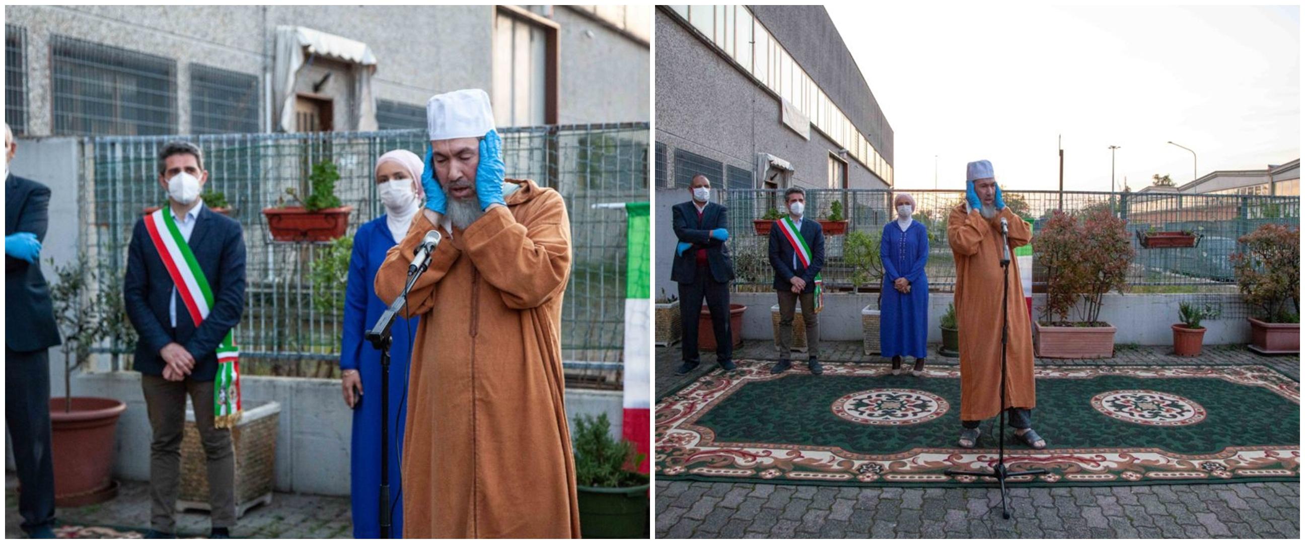 Sambut Ramadhan, lantunan azan pertama menggema di Parma Italia