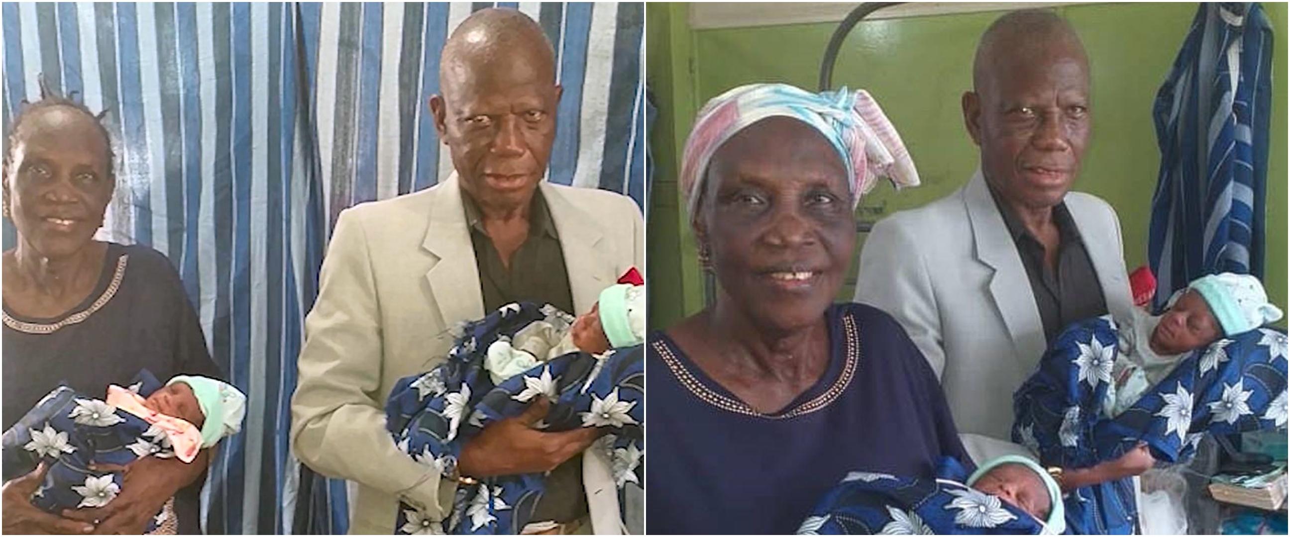 50 Tahun menanti, wanita 68 tahun akhirnya lahirkan bayi kembar