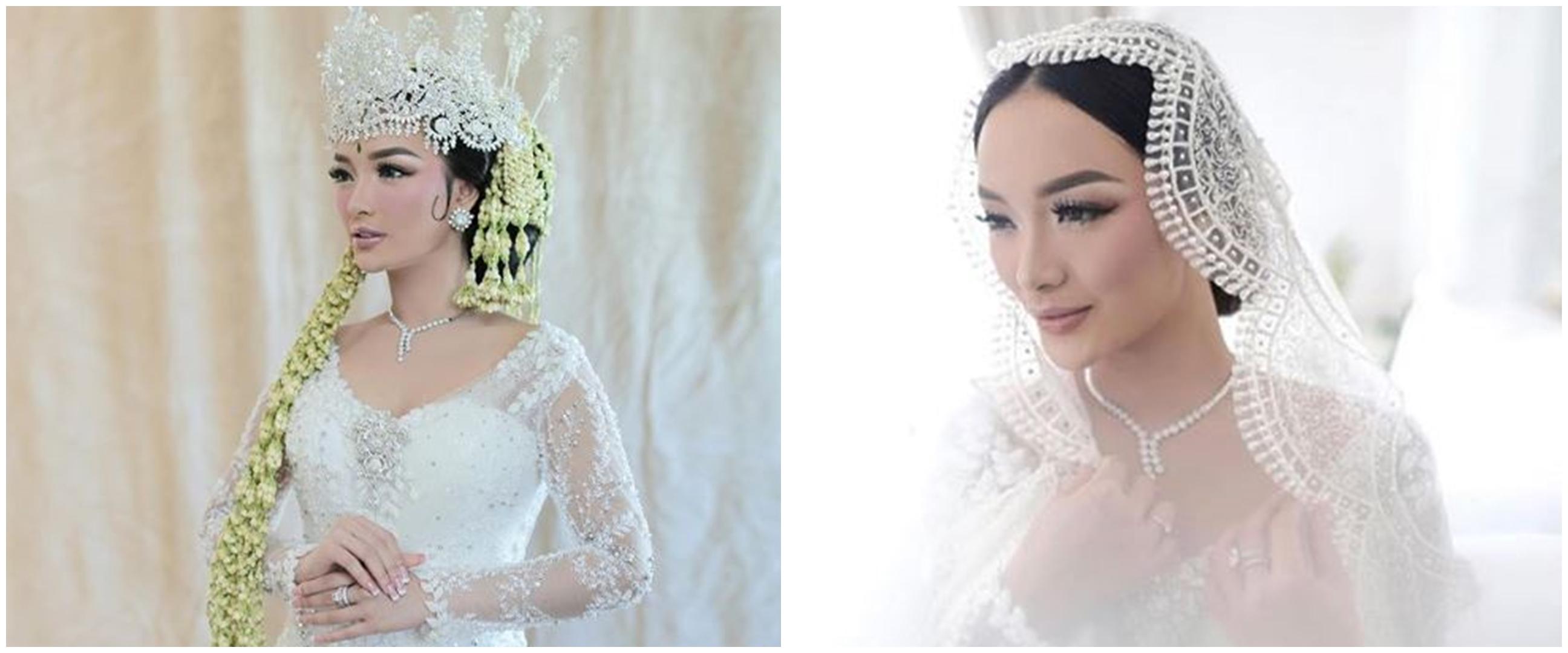 Harga gaun pernikahan Zaskia Gotik nominalnya bikin melongo