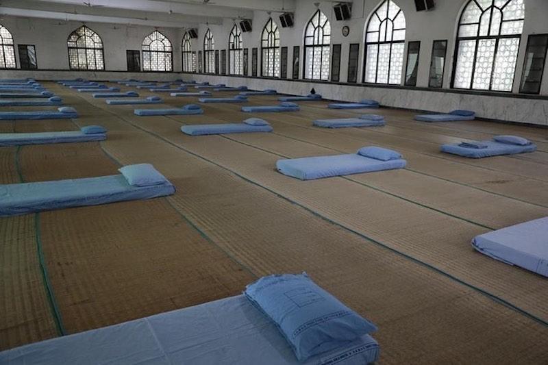 Masjid ini disulap jadi tempat karantina © 2020 borakdaily